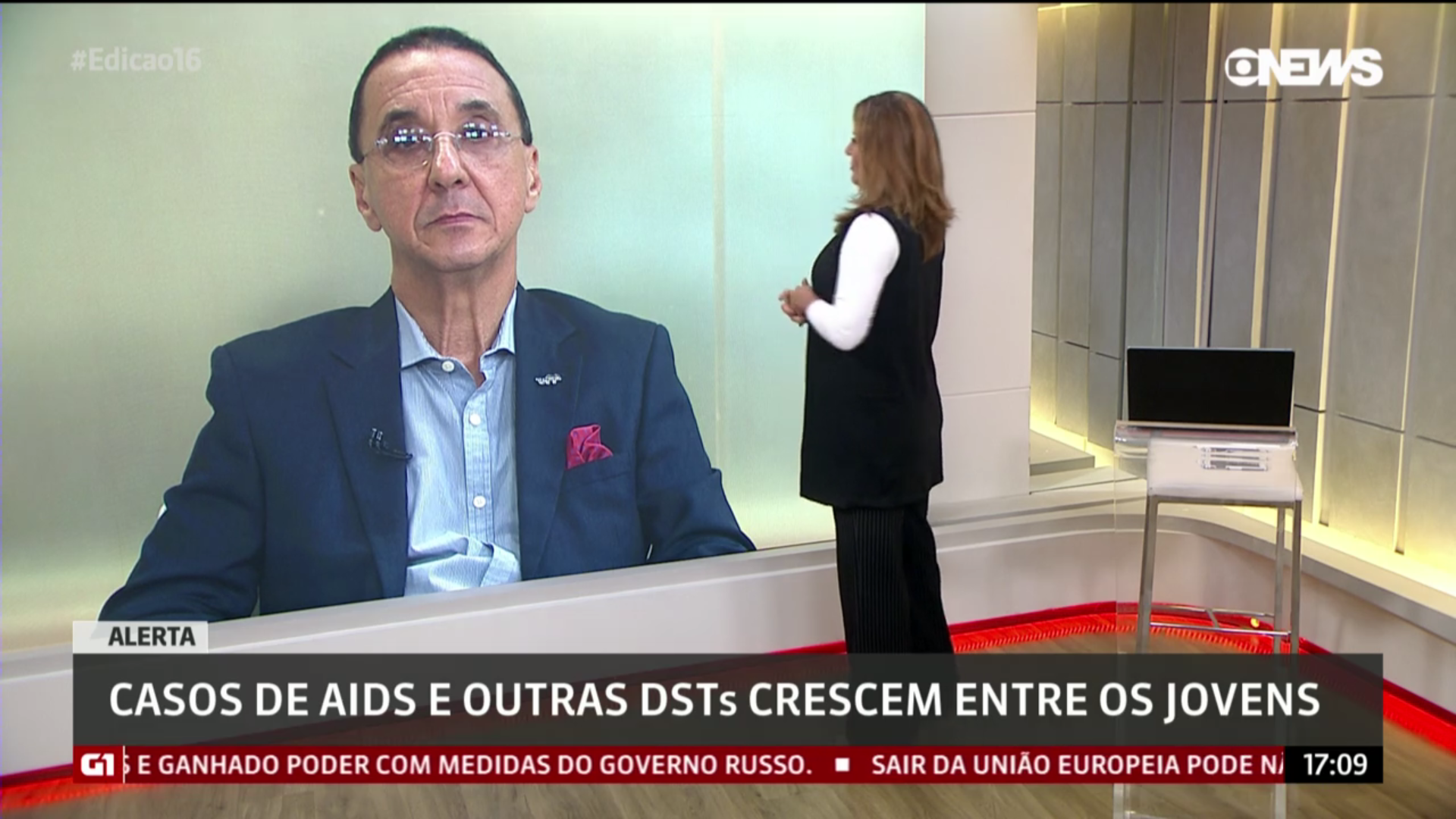 Entrevista à GloboNews