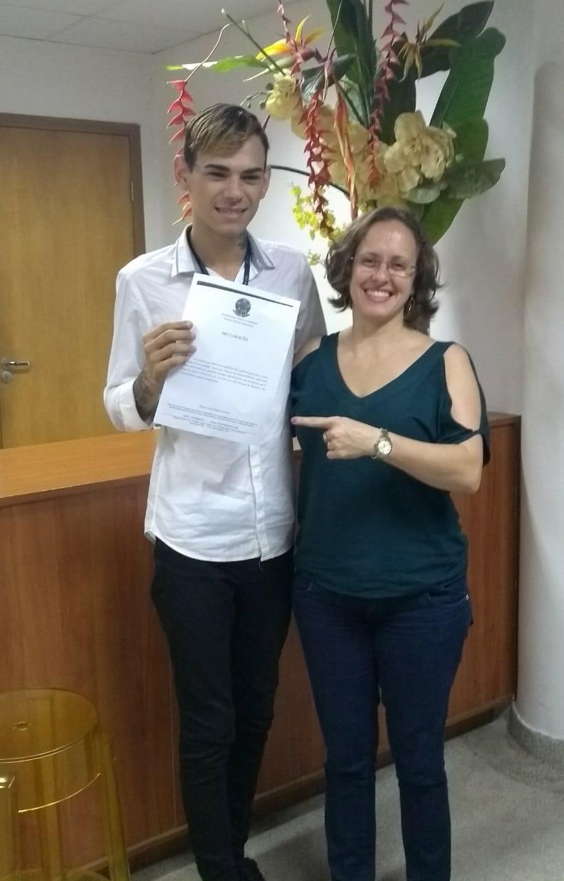 Aluno do MIP recebe prêmio na XXI Semana de Monitoria